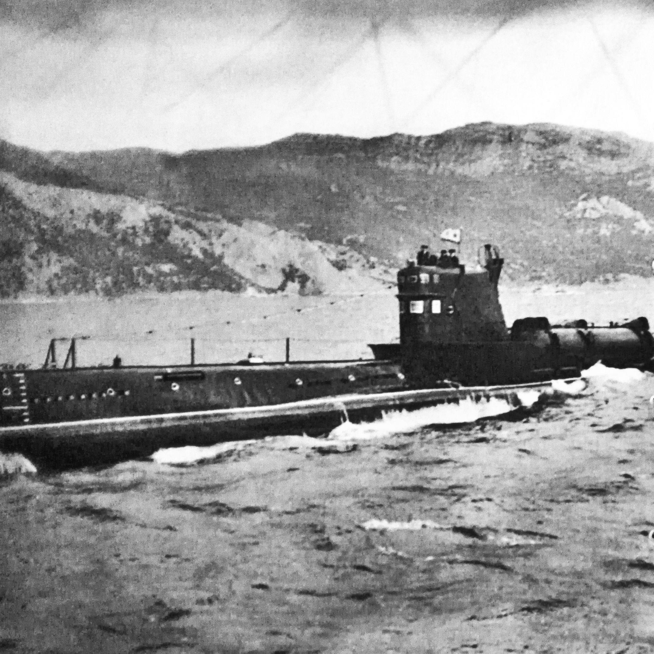 Whiskey Twin Cylinder Submarine (Soviet Class 613) Courtesy Balaklava Naval Museum